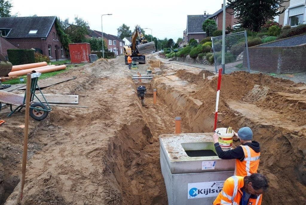 Reconstructie Nieuwstraat te Beegden | Bloem Civieltechniek BV